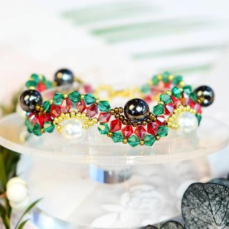 PandaHall Idea on Wave Beaded Bracelet