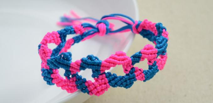How to Make DIY Best Friend Infinity Bracelet with Forward & Backward Knot