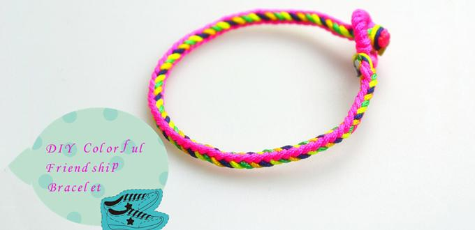 How to Make Cool Friendship Bracelets with Strings- Really Easy DIY Friendship Bracelet Pattern