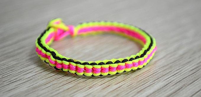 How to make macrame bracelet patterns step by step