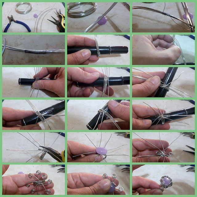 Как сделать кольцо своими руками мастер класс