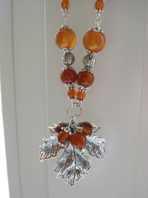 Leaf Peandant Necklace