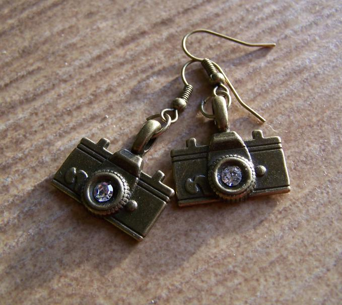 Tibetan Instagram Pendant Earrings