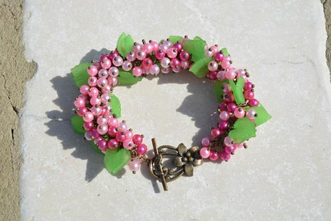 Handmade Floral Bracelet