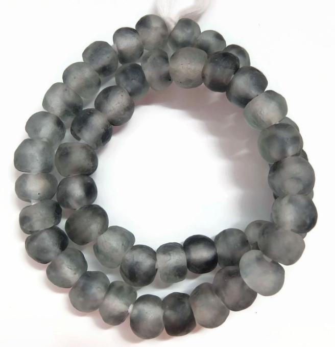transparent glass beads bracelet