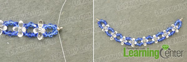 finished sapphire lotus flower pwndant for crystal necklace