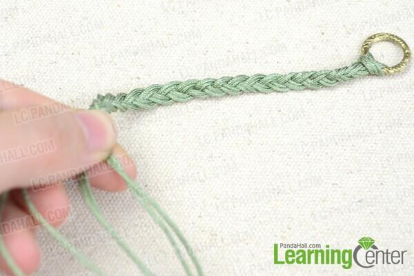 do the 3 strand braiding