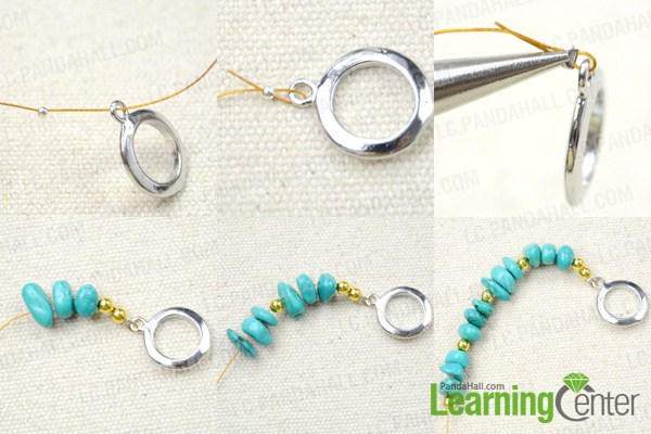how to make a charm bracelet with beads