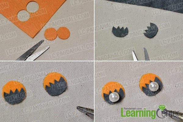 make the main part for the paper cup octopus craft