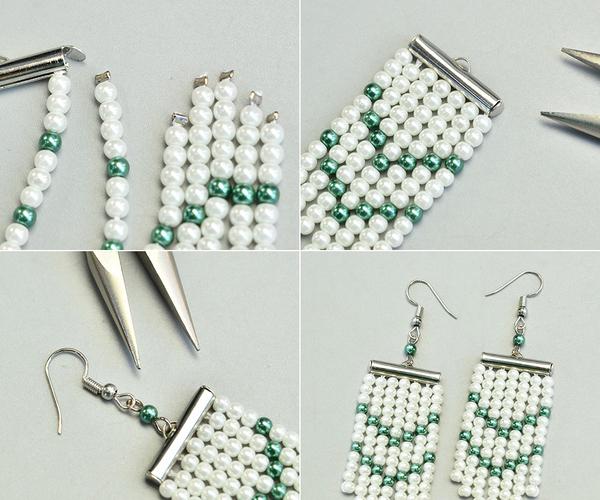On Making a Pair of Luxury Pearl Earrings