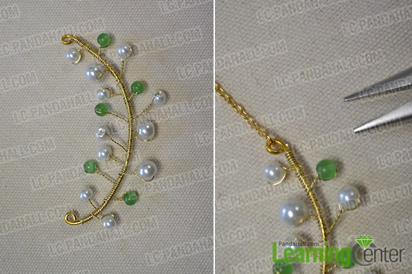 Tutorials on How to Make Cheap Easy Crafts- A Beaded Leaf Pendant Necklace