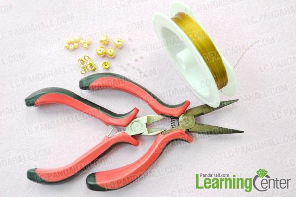 Materials needed in diy wedding bracelet