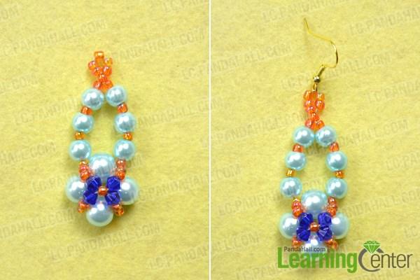 Finish the handmade beaded earring ideas