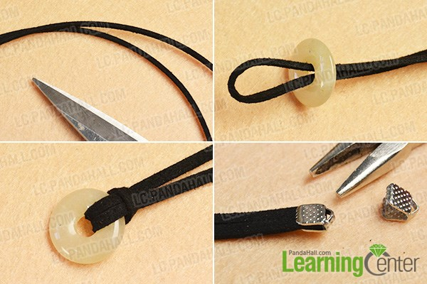 Make a basic part of the bracelet