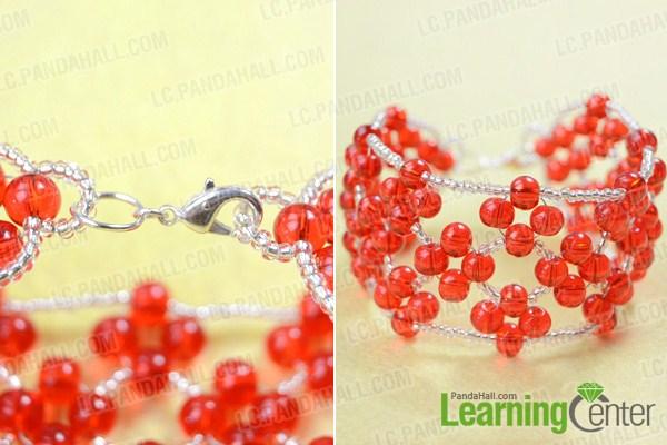 finishe bead weaving bracelet patterns