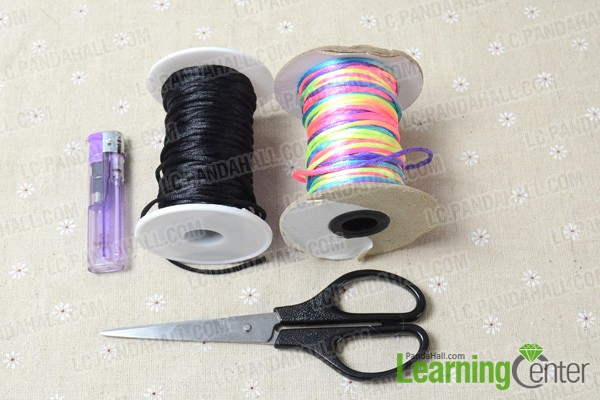 materials for making a snake knot bracelet