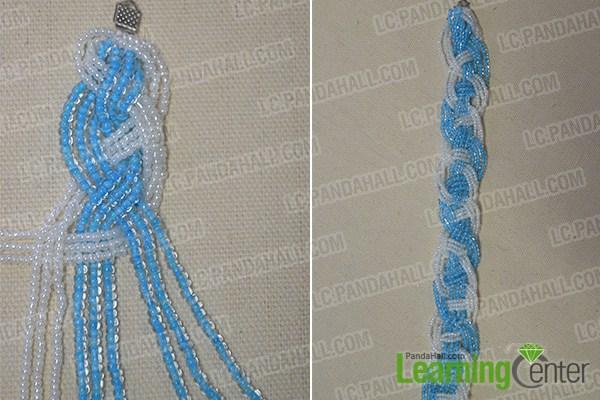 braid the seed bead strands1