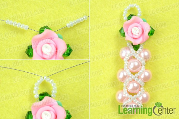 finish how to make bead earrings at home