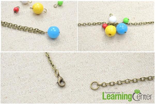 Step 2: Attach dangles onto chain