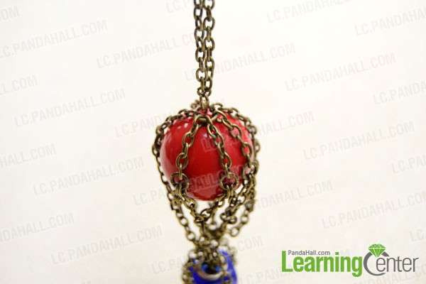 Add the pendant to a chain