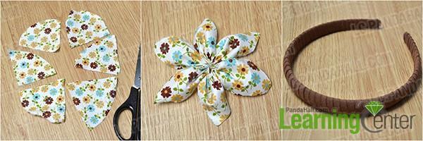 Making Flower Headbands Make a Fabric Flower