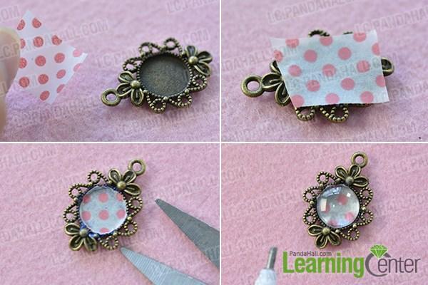 Decorate the Tibetan flower pendant