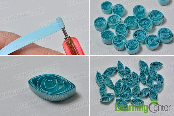 Easy paper quilling flower cards best image of flower mojoimage pandahall tutorial on how to make easy quilling flower cards mightylinksfo