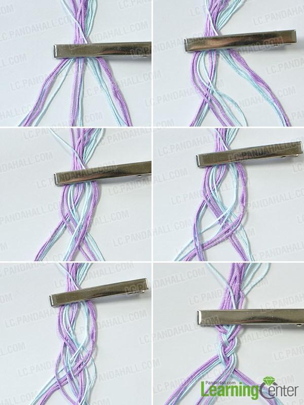 Braid the threads