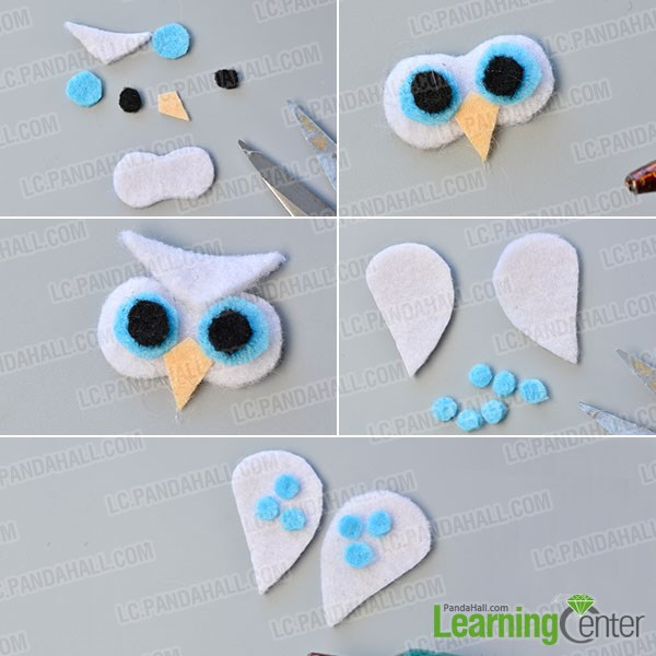 Step 3: Make the other one felt owl