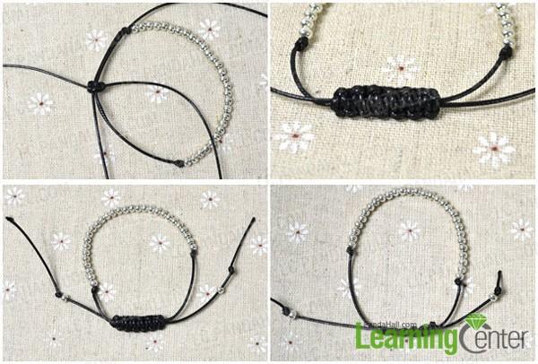 braid bracelet ending