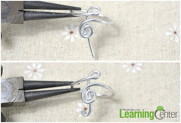 make the music note of treble clef ring