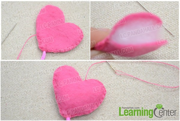 Step 4: Make heart-shaped balloon
