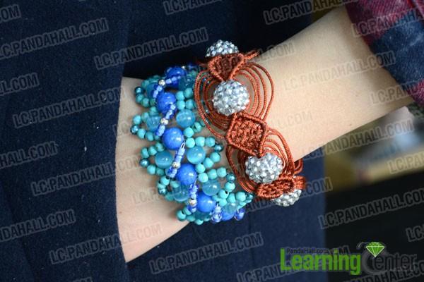showcase of two distinctive bracelet types