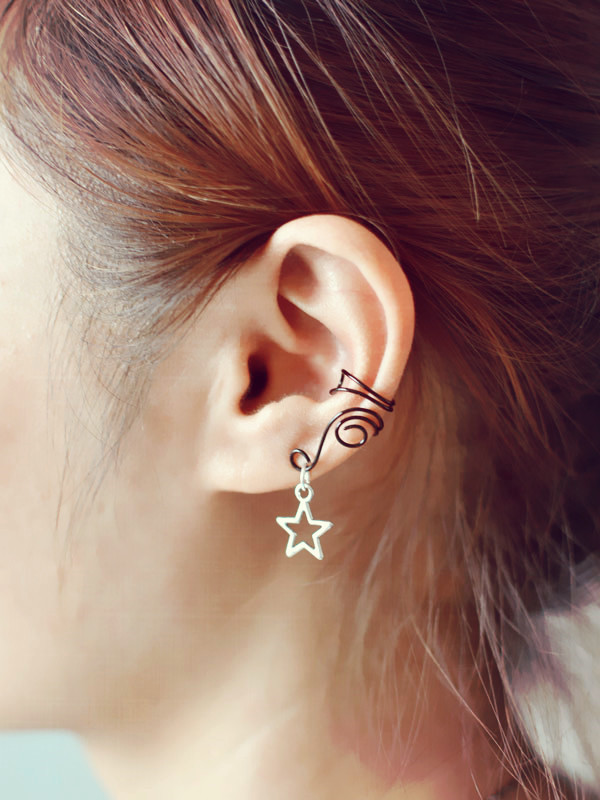 Have a look at the final piece on ear!!