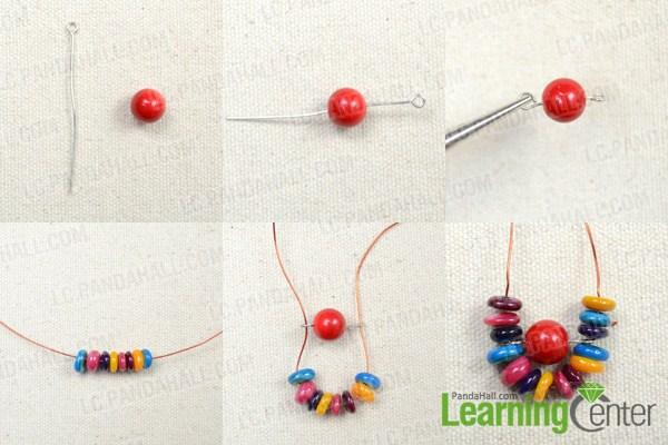 make the basic Hawaiian shell earrings