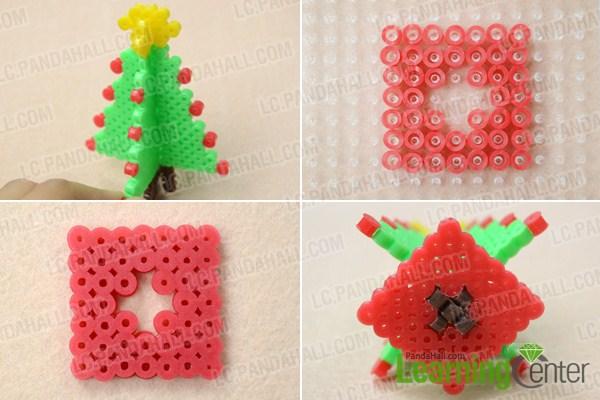 Christmas Hama Beads.How To Make 3d Hama Bead Christmas Tree Designs Pandahall Com
