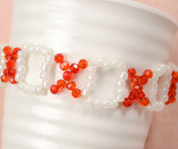 seed bead bracelet tutorial make your own simple beaded