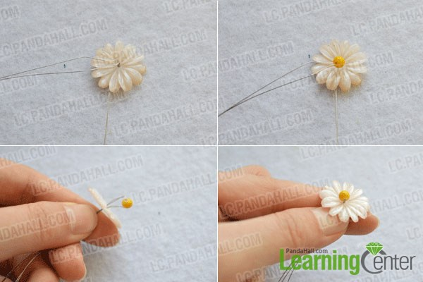 Step 1: make the daisy flower