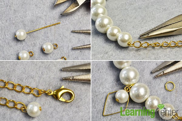 make the basic pearl and chain part