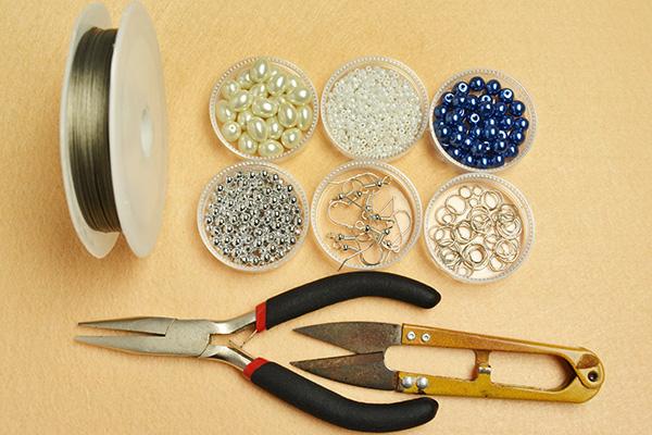 Supplies you'll need in making dangle earrings