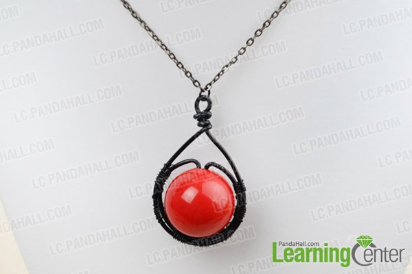attaching pendant to necklace with bails