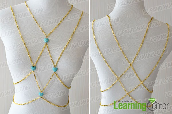 make the rest part of the turquoise body jewelry