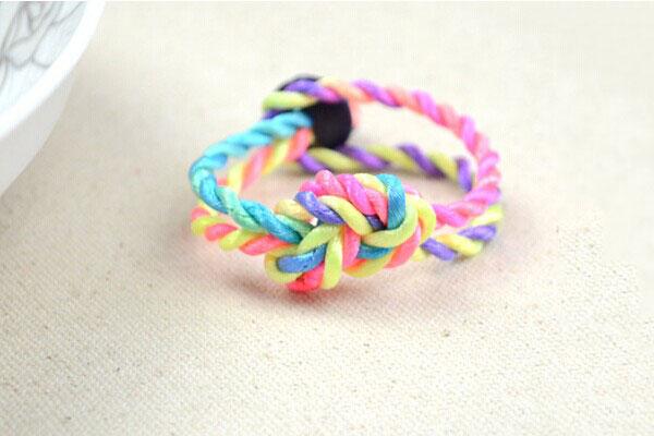 friendship knot bracelet