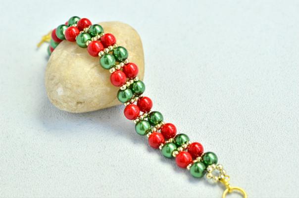 PandaHall Video Tutorial on Glass Pearl Bracelet