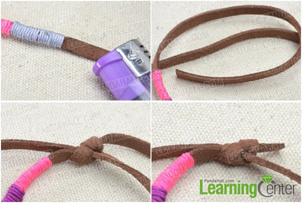 Step 2: Do the first sliding knot