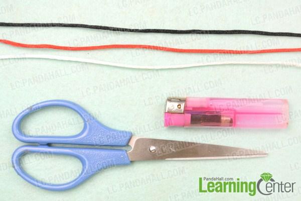 how to make square knot bracelet