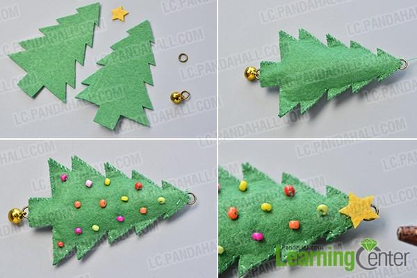 Make the Christmas tree