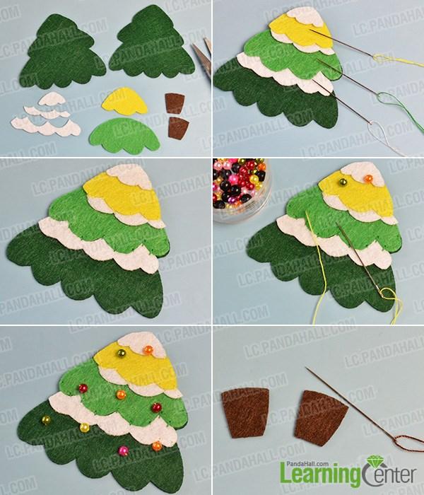 Make a basic Christmas tree