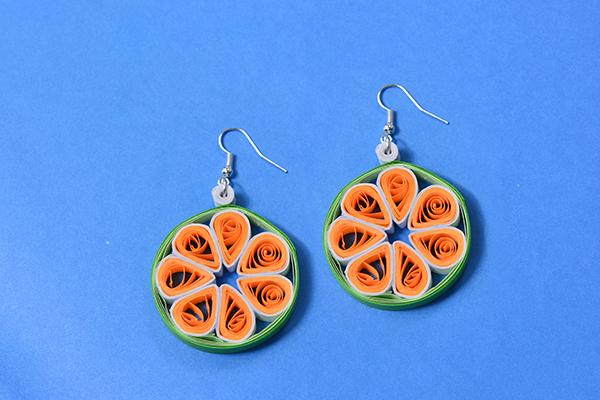 how to make simple hoop earrings
