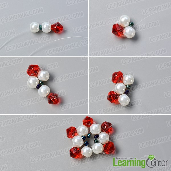 Make a basic bead flower